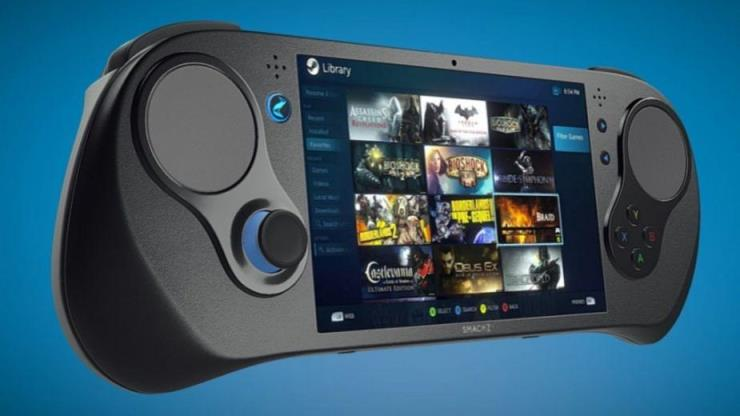 Smach Z, the handheld gaming PC that can stream and play Steam games.