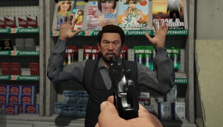 Robbery in GTA Online
