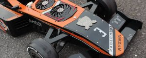 This PC Is Literally Built Into An F1 Car (Power Meets Power)