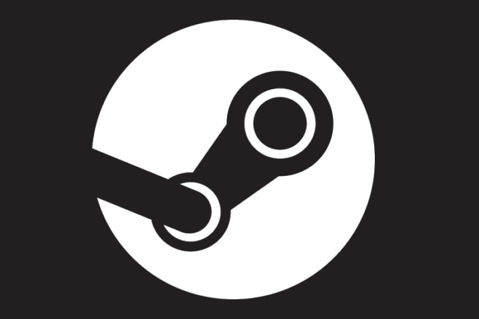 The Steam logo.