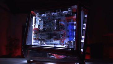 Terry Crews' purple gaming PC
