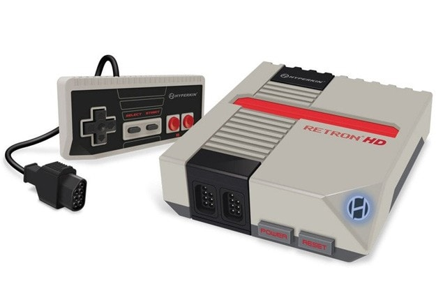 A NES influenced gaming console.
