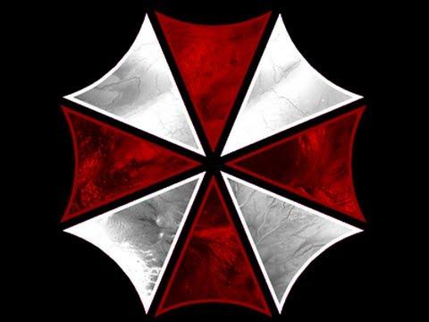 Resident Evil umbrella logo.