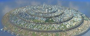 This Perfectly Round Cities: Skylines Megacity Is A Work Of Art