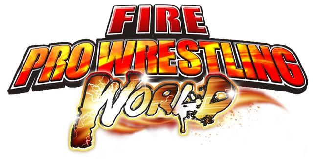 Fire Pro Wrestling World Logo