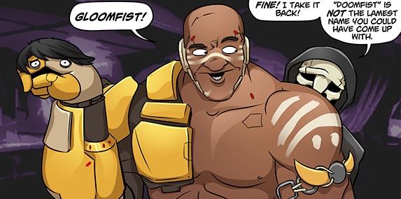 A Doomfist webcomic