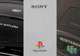 Sega Saturn vs PlayStation 1 vs N64
