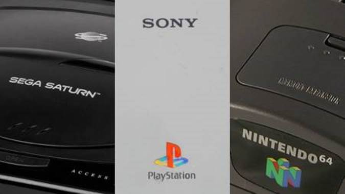 Sega Saturn vs PlayStation 1 vs N64