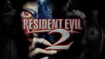 The Resident Evil 2 logo.