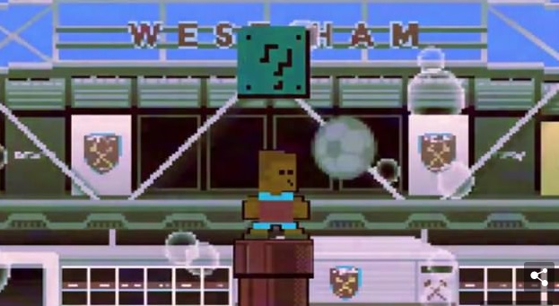 A Mario-inspired intro showing Joao as Mario on a red pipe in front of a stadium.