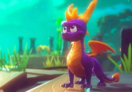 Spyro the dragon looking bewildered.