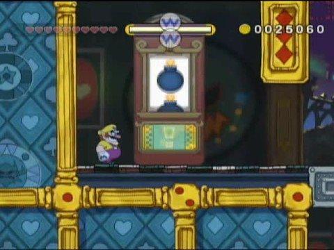 Glittertown casino from the Wario Land video game