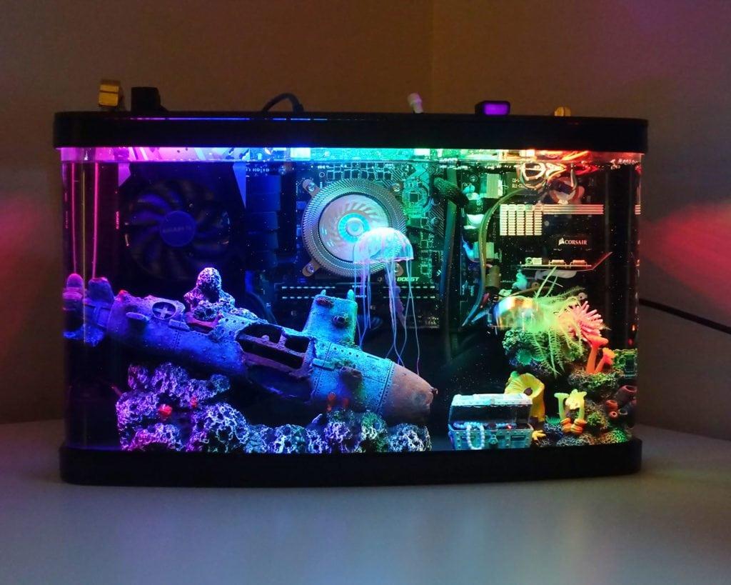 This Aquarium Gaming PC Build Is Incredible