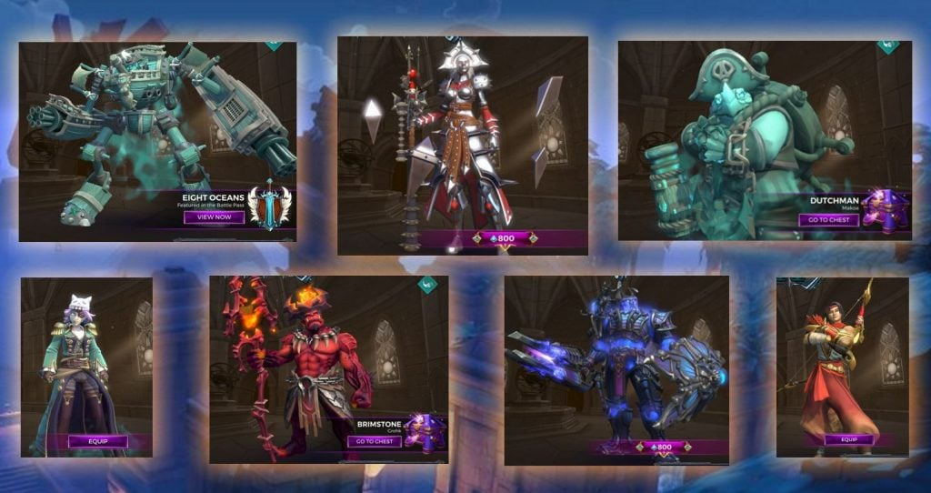 """Paladins' """"Little Box of Horrors"""" Skins Rated for Halloween"""