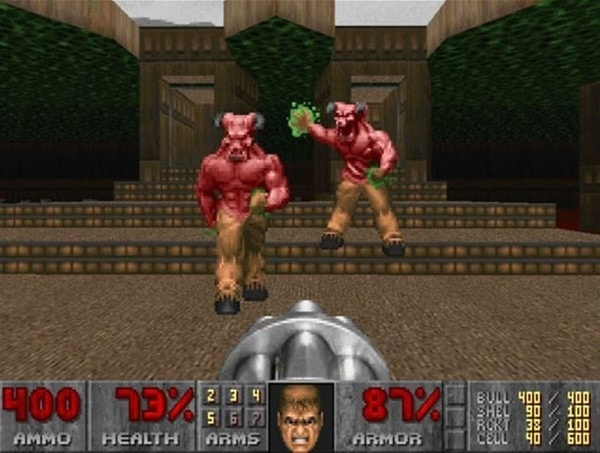 The Original Doom Is My Christmas Game of Choice