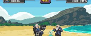 Beat Up Darwin As Einstein in Science Kombat