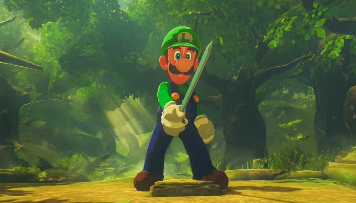 Now You Can Play As Luigi in Breath of the Wild