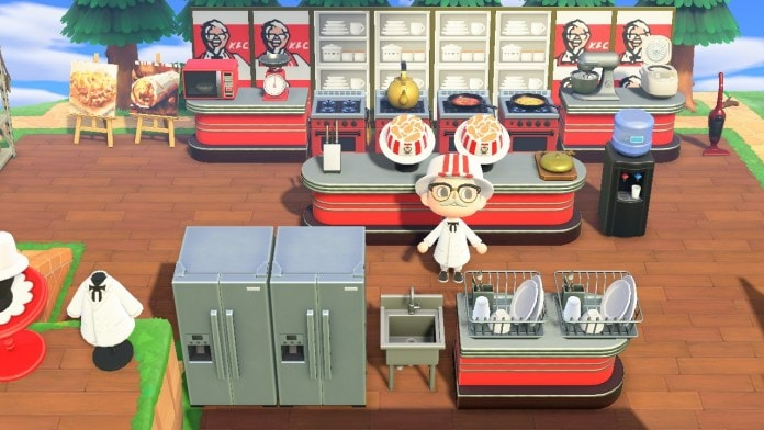 KFC Opens Official Restaurant in Animal Crossing: New Horizons