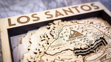 Check Out This Flawless Carving of GTA 5's Los Santos