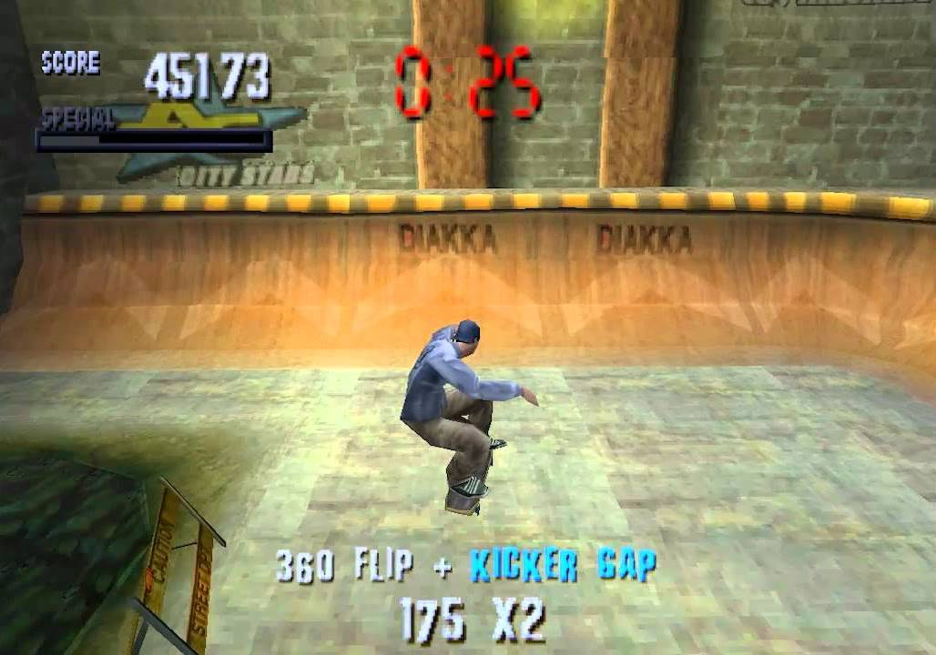 Tony Hawk's Pro Skater Memories: Heavenly Halfpipes