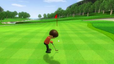 TIL Wii Sports Golf's Maps Are From NES Golf