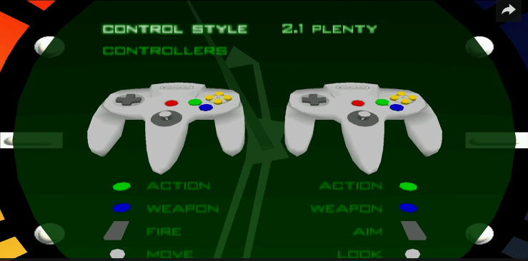 TIL Perfect Dark and GoldenEye Had A Dual-Analog Control Option
