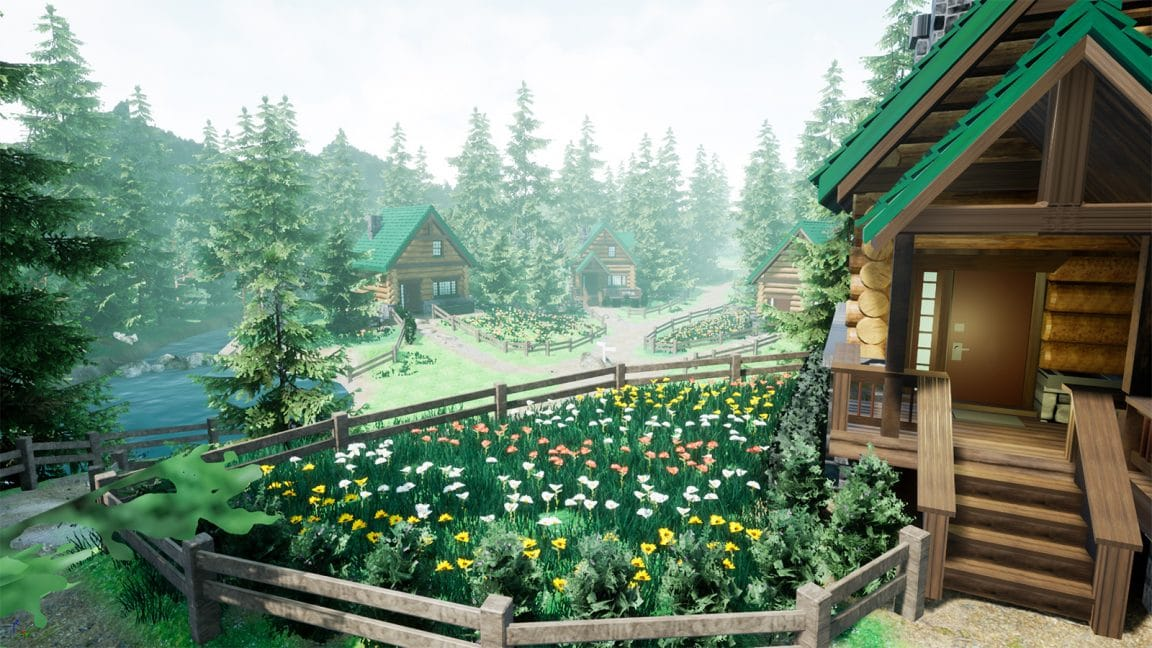Pokemon Platinum and Pearl's Twinleaf Town Looks AMAZING in Unreal Engine
